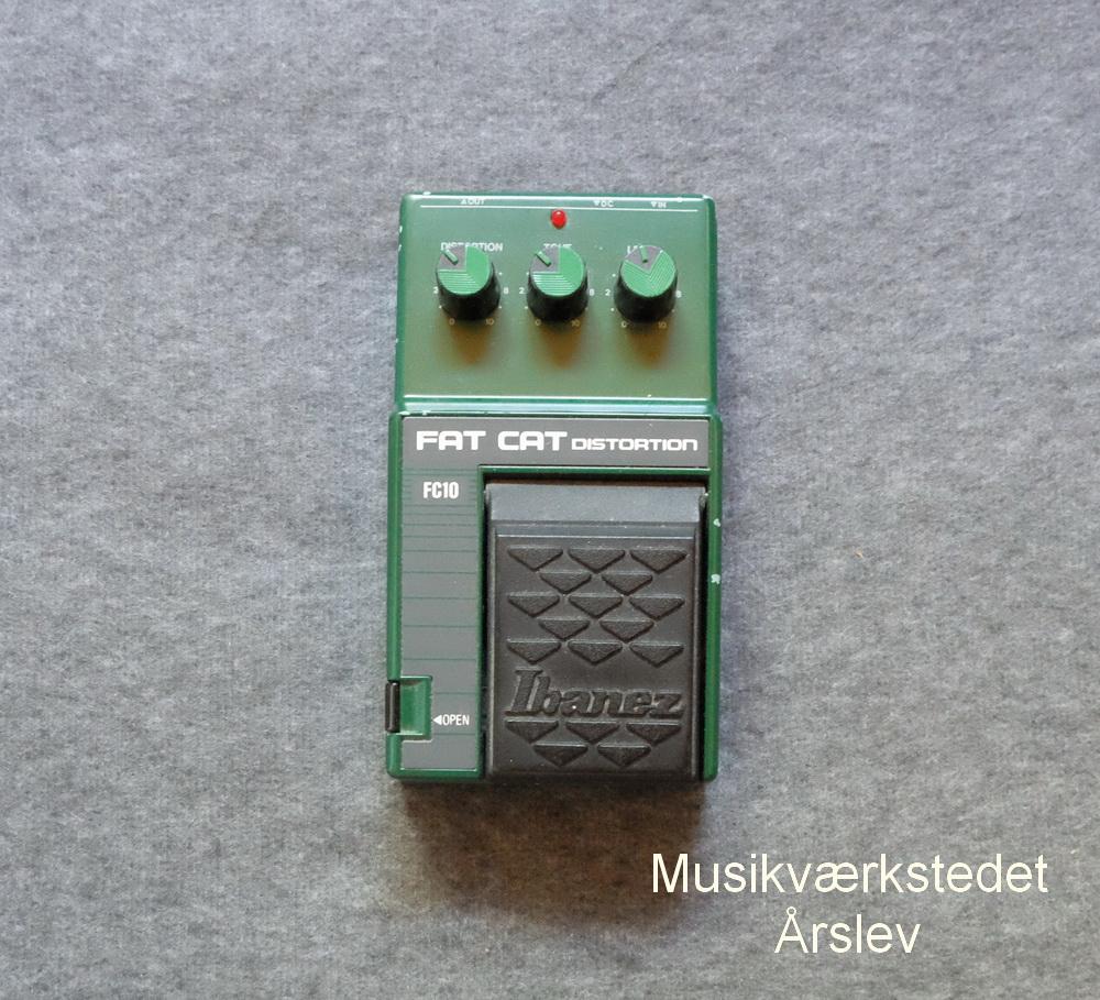 IBANEZ Fat Cat Distortion FC10. Lyden fra 1984. Original emballage. 600,- kr
