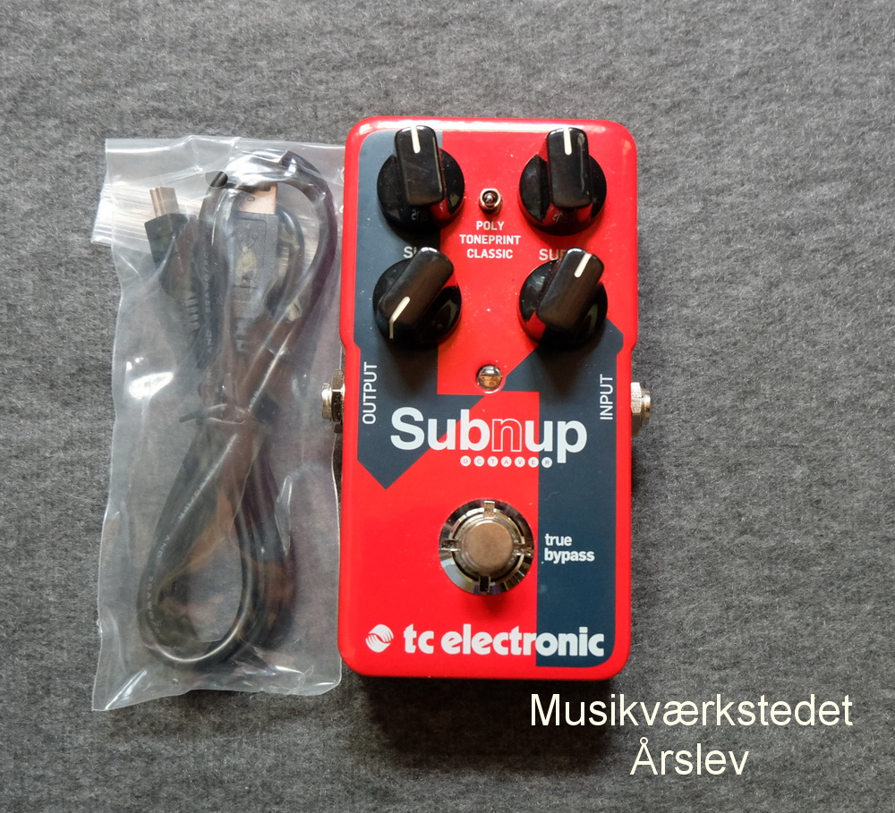 T.C ELECTRONIC Sub´nup Octaver Original emballage. 500,- kr