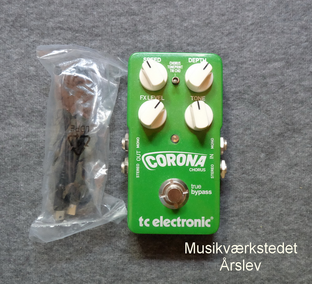T.C. ELECTRONIC. Corona Chorrus. Original Emballage. 750,- kr